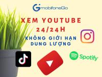 Đăng ký gói GY MobiFone – Xem YouTube 24/24h không giới hạn dung lượng